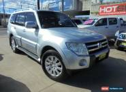 2007 Mitsubishi Pajero NS Exceed Silver Automatic 5sp A Wagon for Sale