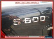2000 Mercedes-Benz S600 L Black Automatic 5sp A Sedan for Sale