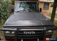 Toyota Landcruiser 60 series 89 Manual Petrol/Gas for Sale