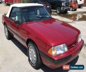 Classic 1990 Ford Mustang GT Convertible 2-Door for Sale