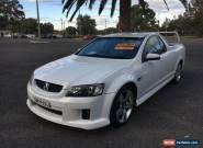 2009 Holden Ute VE SS V White Manual M Utility for Sale