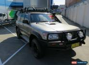 2000 Nissan Patrol GU II ST Gold Automatic 4sp A Wagon for Sale