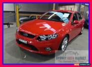 2009 Ford Falcon FG XR6 Red Automatic A Sedan for Sale