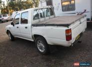 TOYOTA HILUX UTE DUAL CAB 1997 MODEL PETROL MANUAL for Sale
