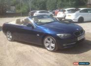 2010 60 BMW 320i SE E93 LCI CONVERTIBLE CABRIOLET FSH MOT June 2018 for Sale