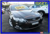 Classic 2008 Ford Falcon FG XR8 Black Automatic 6sp A Utility for Sale