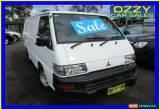 Classic 2009 Mitsubishi Express SJ MY10 SWB White Manual 5sp M Van for Sale