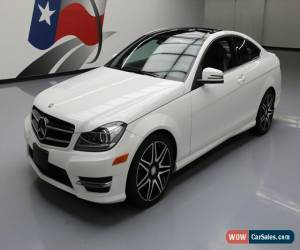 Classic 2014 Mercedes-Benz C-Class 4Matic Coupe 2-Door for Sale