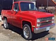 1984 Chevrolet Other Pickups siverado for Sale