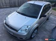 2004 Ford Fiesta Limited Edition 'Silver' 1.4 Petrol - Leather Interior for Sale