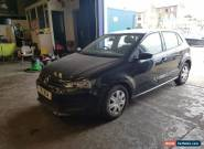 VW POLO 2011 11 REG 5 DOOR IN BLACK 1.2 S 60 HPI CLEAR A/C for Sale