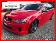 2009 Holden Commodore VE SV6 Red Automatic A Wagon for Sale