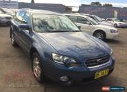 2005 Subaru Outback MY05 2.5I Automatic 4sp A Wagon for Sale