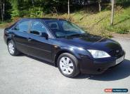 ** 03 Ford mondeo Graphite 1.8 petrol 5 Door black ** for Sale