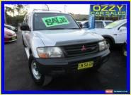 2000 Mitsubishi Pajero NM GLX LWB (4x4) Silver Automatic 5sp A Wagon for Sale