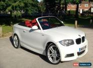 BMW 118i M Sport Convertible 2009 (09) red leather for Sale