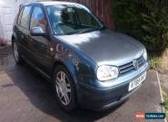 VW MK4 Golf 2.3 V5 Hatchback manual for Sale