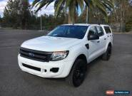 2012 Ford Ranger PX XL White Automatic A Utility for Sale