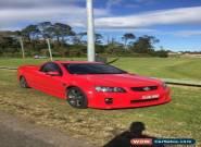 Holden VE Ute SSV V8 for Sale