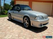 1990 Ford Mustang GT Convertible for Sale