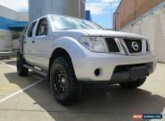 2011 Nissan Navara D40 MY11 RX Grey Manual 6sp M 4D UTILITY for Sale