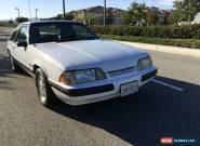 1989 Ford Mustang 2-DOOR HATCHBACK for Sale