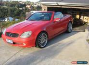 Mercedes Benz SLK 230 Kompressor 2002 for Sale