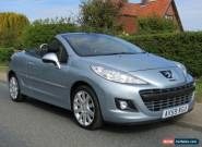 2009 Peugeot 207 1.6 HDi GT 2DR TURBO DIESEL CONVERTIBLE ** 35,000 MILES * LO... for Sale