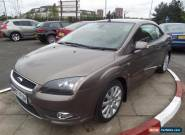 2007 FORD FOCUS CC 2.0 CC 3 for Sale