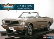 1966 Ford Mustang Convertible C Code for Sale