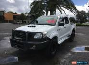 2012 Toyota Hilux KUN26R White Automatic A Utility for Sale