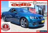 Classic 2012 Holden Ute Green Automatic A Utility for Sale