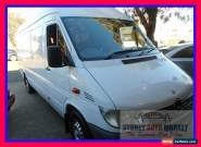 2002 Mercedes-Benz Sprinter 313CDI White Manual M Van for Sale