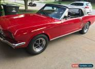 1966 Ford Mustang Base for Sale