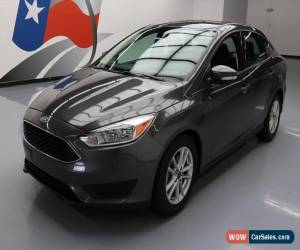 Classic 2016 Ford Focus SE Sedan 4-Door for Sale