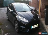 2014 FORD FIESTA ST-3 TURBO BLACK for Sale
