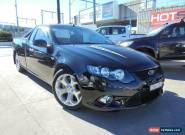 2009 Ford Falcon FG XR8 Black Automatic 6sp A Utility for Sale