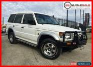 2000 Mitsubishi Pajero NL Escape Wagon 5dr Auto 4sp 4x4 3.5i White Automatic A for Sale