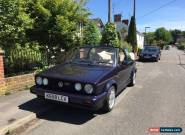 VW Volkswagen Rare Mk1 Golf GTI Rivage Low Mileage excellent condition for Sale