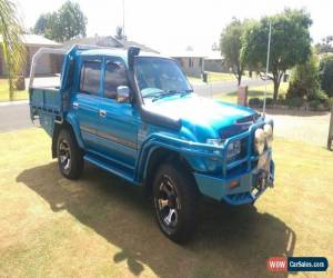 Classic 80 Series Dual Cab Toyota Landcruiser 1HD-FTE for Sale
