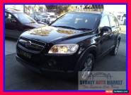 2007 Holden Captiva Black Automatic A Wagon for Sale