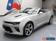 2017 Chevrolet Camaro SS Convertible 2-Door for Sale
