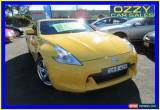 Classic 2009 Nissan 370Z Z34 Yellow Automatic 7sp A Coupe for Sale