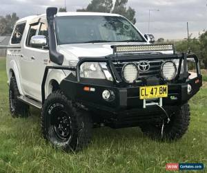 Classic 2011 Toyota Hilux SR MY12 4 Speed Automatic KUN26R Double Cab Dual Cab 4x4 Ute  for Sale