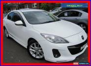 2013 Mazda 3 BL MY13 SP25 White Pearl Automatic 5sp A Sedan for Sale