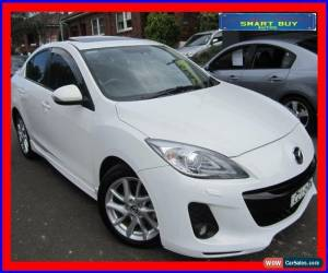 Classic 2013 Mazda 3 BL MY13 SP25 White Pearl Automatic 5sp A Sedan for Sale