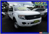 Classic 2012 Ford Ranger PX XL 2.2 HI-Rider (4x2) White Automatic 6sp A Crew Cab P/Up for Sale