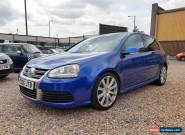 2006 VW GOLF R32 3.2 V6 DSG AUTOMATIC 5 Door 4Motion Blue Leather Low Miles  for Sale