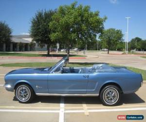 Classic 1966 Ford Mustang Convertible for Sale