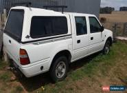 2001 Holden Rodeo Duel Cab 4x2 for Sale